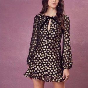 For Love and Lemons Lottie Bell Sleeve Dress